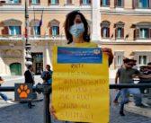 Tesori a quattro zampe alla manifestazione di Montecitorio in difesa degli animali – LE FOTO